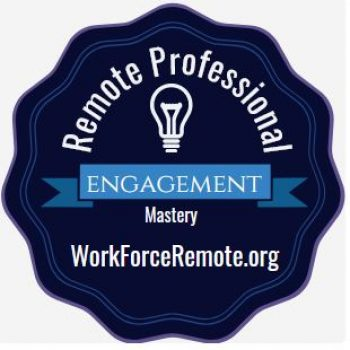 Remote Professional Engagement Digital Credential