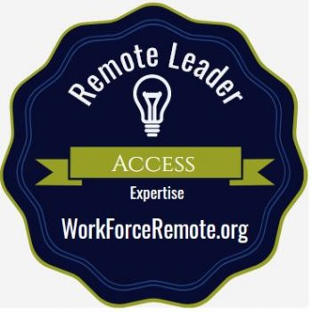 Badge: Remote Leader Access Expertise