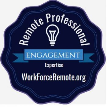 Badge: Remote Professional Engagement Expertise