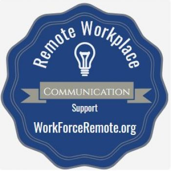 Remote Workplace Communication Digital Credential