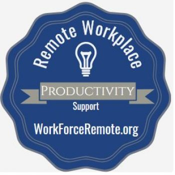 Remote Workplace Productivity Digital Credential