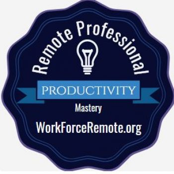 Remote Professional Productivity Digital Credential